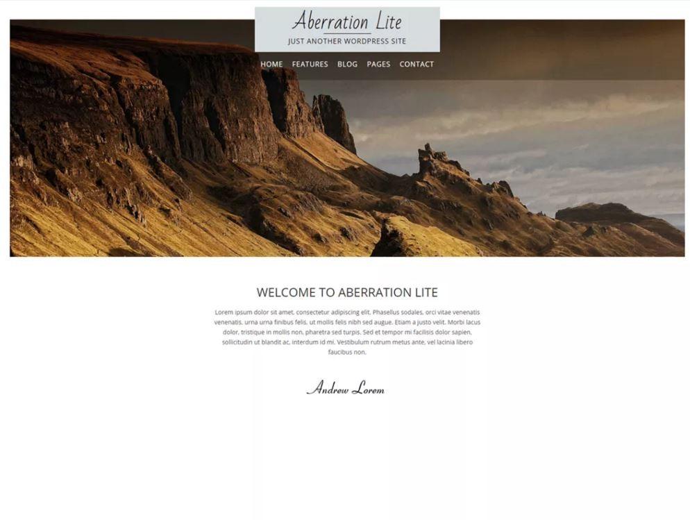 Шаблон для сайта о путешествиях на WordPress. 2d446b53fe4