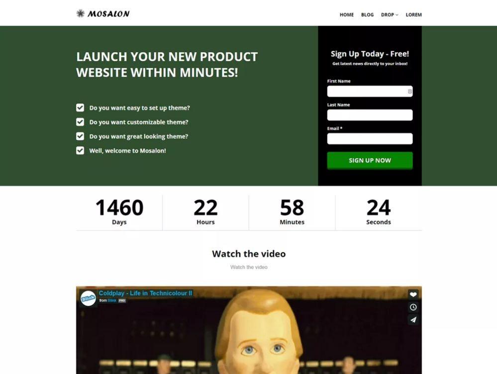 Mosalon. Шаблон для архитектурных сайтов на WordPress. a4f53bafa15
