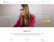 Business One Page. Одностраничный шаблон для деловых сайтов на Wordpress.