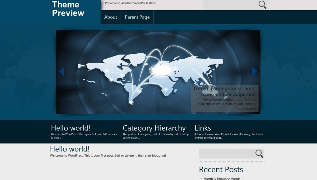Exclusive. Шаблон серьезной тематики для WordPress. fed7233c898