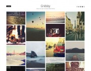 Gridsby. Шаблон для портфолио на WordPress.