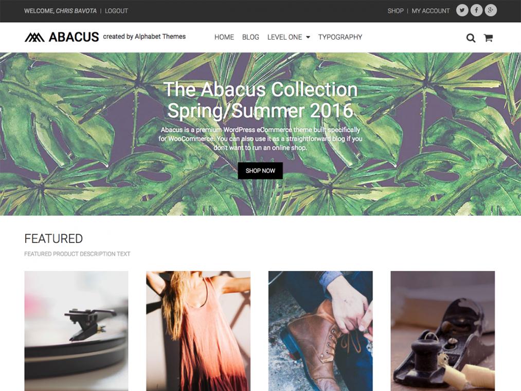 Abacus. Шаблон для сайтов о моде на WordPress. 2ce4ebed41e