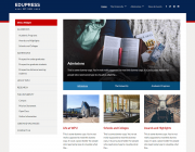 EduPress. Строгий шаблон образовательной тематики для сайтов на WordPress.